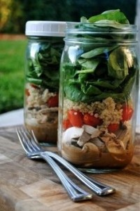 Tips salad