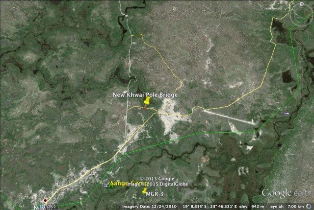 Google Map of Khwai Bridge
